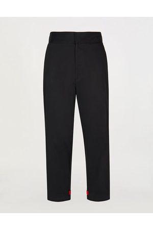 FERRARI Men Sweatpants - Men's cotton joggers with straps