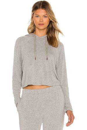 Calvin Klein Long Sleeve Hoodie in Grey.