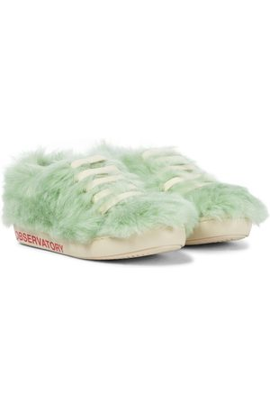 The Animals Observatory Sneakers - Bunny faux fur sneakers