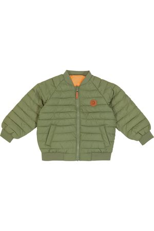 Mini Rodini Beaver quilted technical jacket