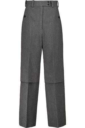 Lemaire Virgin wool tweed straight pants