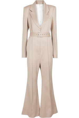 Peter Do Virgin wool tuxedo jumpsuit