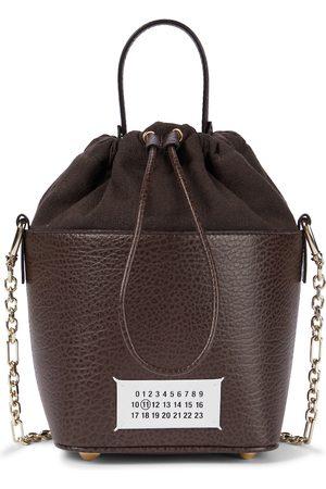 Maison Margiela 5AC leather bucket bag