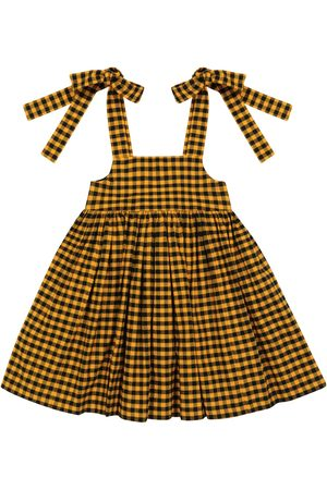 paade mode Baby Dresses - Checked cotton dress