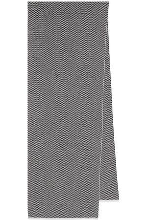 JOSEPH Wool herringbone scarf