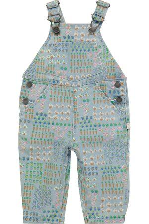 Stella McCartney Baby printed denim overalls
