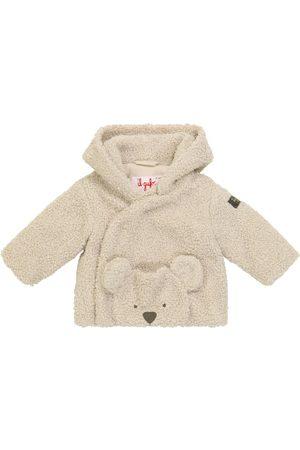 Il Gufo Baby faux shearling jacket