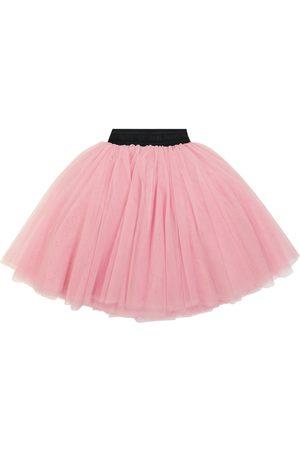 Balmain Kids Tulle miniskirt