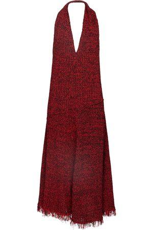 Proenza Schouler Crocheted halterneck midi dress