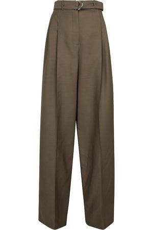 Peter Do Wool-blend wide-leg pants