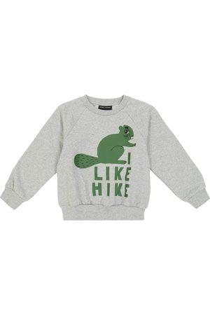 Mini Rodini Sweatshirts - Beaver Hike cotton sweatshirt
