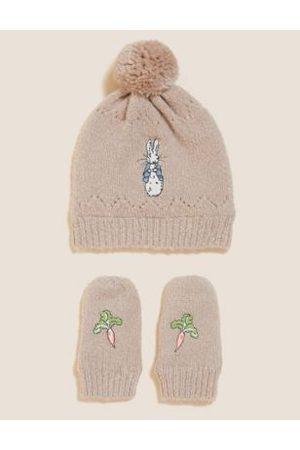 Kids' Peter Rabbit™ Hat and Mitten Set (0-12 Mths)
