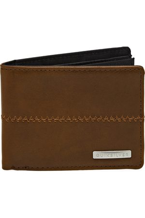 Quiksilver Stitchy 3 s Wallet - Chocolate