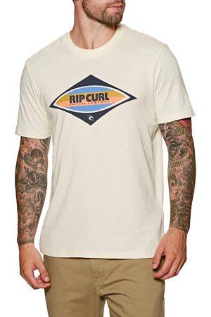 Rip Curl Men Short Sleeve - Surf Revival Decal s Short Sleeve T-Shirt - Bone