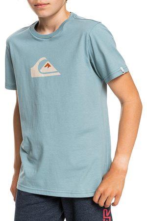 Quiksilver Comp Logo Boys Short Sleeve T-Shirt - Citadel
