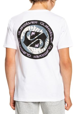 Quiksilver Boys Short Sleeve - Golden Records Boys Short Sleeve T-Shirt