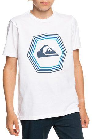 Quiksilver Boys Short Sleeve - New Noise Youth Boys Short Sleeve T-Shirt