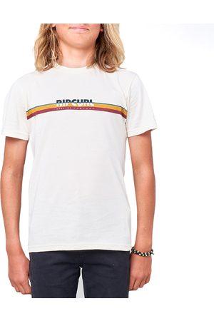 Rip Curl Boys Short Sleeve - Mama Horizon Boys Short Sleeve T-Shirt - Bone