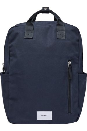 Sandqvist Luggage - Knut Backpack - Navy With Navy Webbing