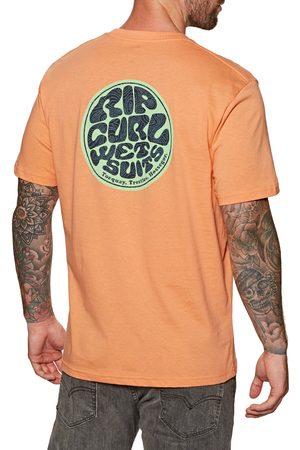 Rip Curl Men Short Sleeve - Passage s Short Sleeve T-Shirt - Washed Peach