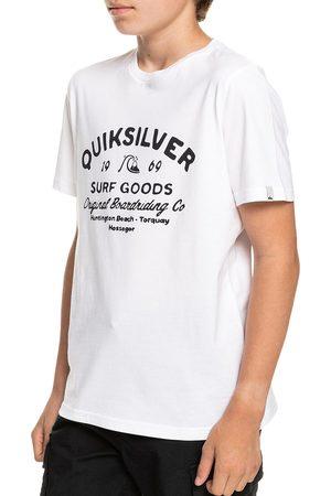 Quiksilver Boys Short Sleeve - Closed Captions Boys Short Sleeve T-Shirt