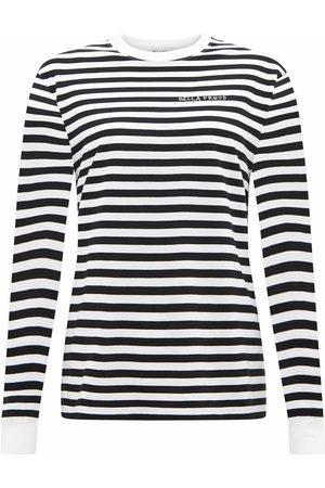 BELLA FREUD Black Striped Long-Sleeved Top