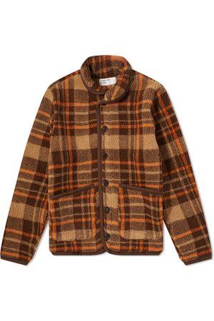 Universal Works Lancaster Check Mountain Fleece Jacket