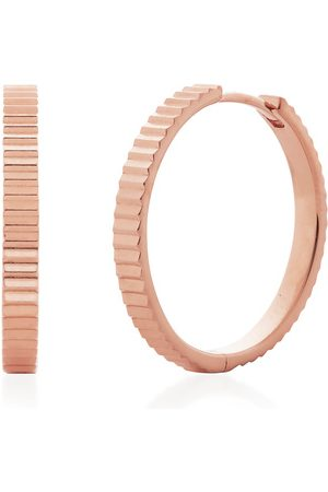 Monica Vinader Women Earrings - Rose Gold Disco Small Hoop Earrings