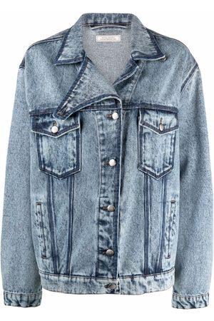 Nina Ricci Women Denim Jackets - Faded denim jacket