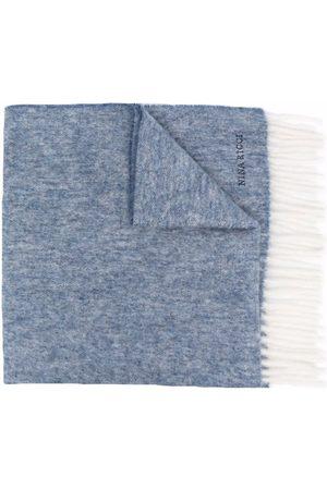 Nina Ricci Embroidered-logo wool scarf