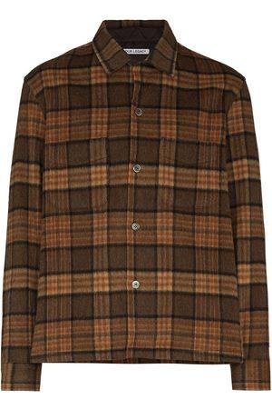 OUR LEGACY Men Shirts - Heusen check-pattern shirt