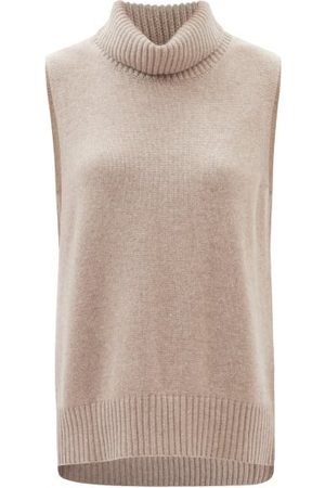 Lisa Yang Molly High-neck Sleeveless Cashmere Sweater - Womens - Mid
