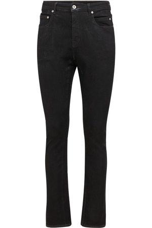 Rick Owens Drkshdw Foil Stretch Denim Jeans