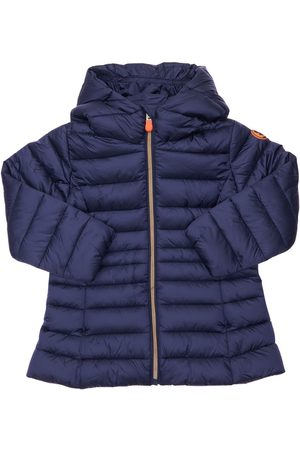save the duck Hooded Nylon Puffer Coat