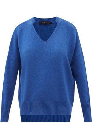 Lisa Yang Women Sweaters - Ines V-neck Cashmere Sweater - Womens