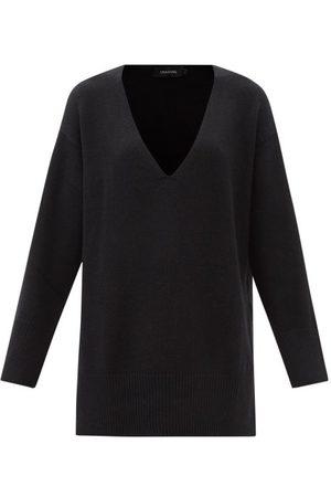 Lisa Yang Victoria V-neck Oversized Cashmere Sweater - Womens
