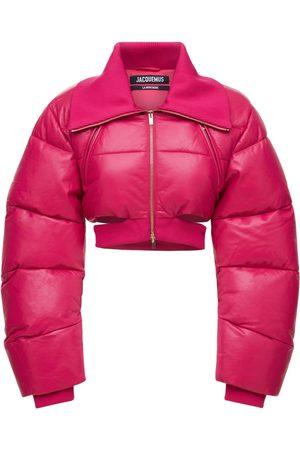 Jacquemus La Doudoune Pralù Leather Puffer Jacket