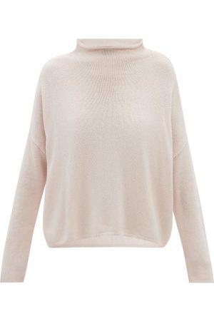 Lisa Yang Women Turtlenecks - Sandy High-neck Cashmere Sweater - Womens - Light