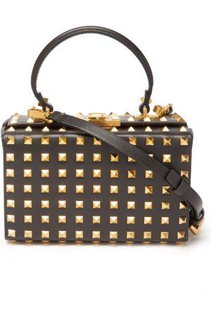 Valentino Garavani Women Purses - Rockstud Saffiano-leather Cross-body Bag - Womens