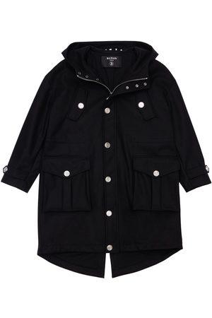Balmain Wool Blend Coat