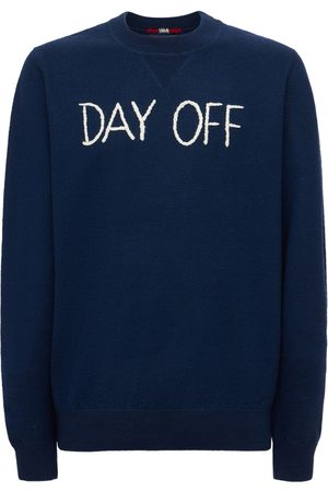 MC2 SAINT BARTH Day Off Embroidered Wool Knit Sweater