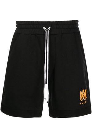 AMIRI Men Sports Shorts - Logo-print sweat shorts