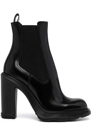 Alexander McQueen Women Heeled Boots - Tread Heeled Chelsea Boots