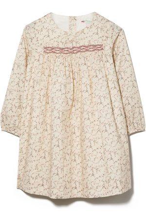 BONPOINT Baby Blouses - Floral print long-sleeve blouse - Neutrals