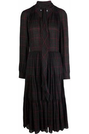 Moschino Women Dresses - Chic Heritage wool dress - Grey