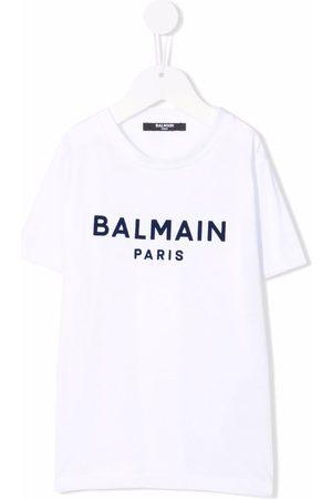 Balmain Logo-print crewneck T-shirt