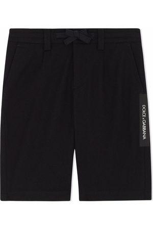 Dolce & Gabbana Kids Tailored stretch-cotton shorts