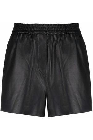 Maje Slim-fit biker shorts