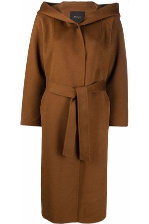 Maje Belted wool coat
