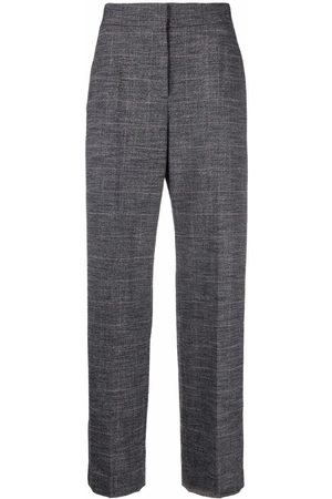 Maje Straight-leg tailored trousers - Grey